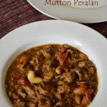 Kerala style lamb stir fry / Kerala mutton peralan