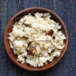 Rice flour upma