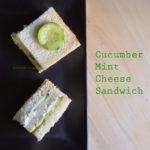 Cucumber Mint Sandwich