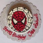 A Spider Man cake